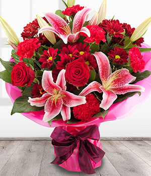 Valentines Day Flowers Delivered On The 14th February Teleflorist