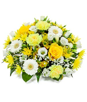 Yellow & White Posy