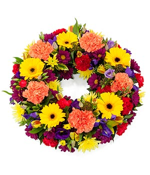 Bright & Vibrant Wreath