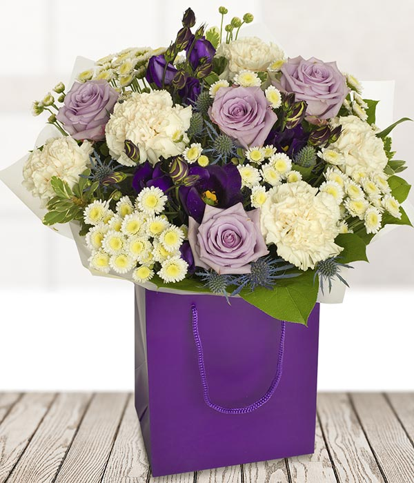 Lilac Rose Bouquet