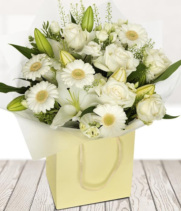 Crisp White Bouquet