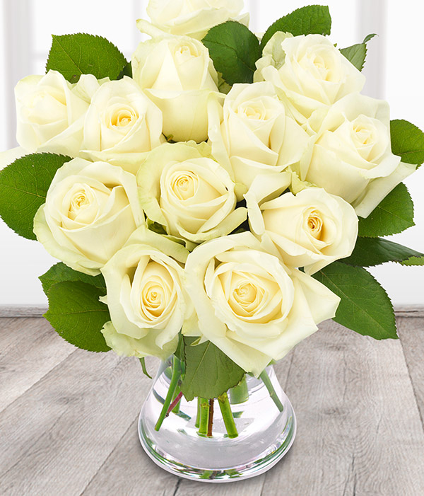 Avalanche white rose bouquet send flowers online mightylinksfo